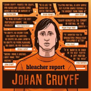 Johan Cruyff is known as the inventor of Total Football