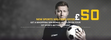 LVBET Welcome Offer
