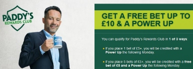 Paddy Power power-up promo offer