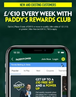 Mobile betting at Paddy Power UK