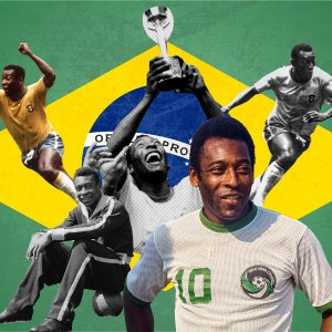Pele is one of the greatest footballers ever